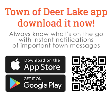 Download the Town of Deer Lake mobile app today!!